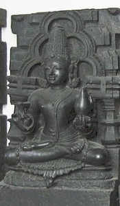 The Moon Goddess - Chandra Devi  (Source: Wikipedia)
