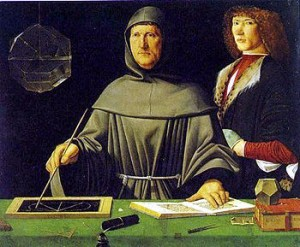 Luca Pacioli, the creator of double-entry bookkeeping. (Source:Wikipedia)