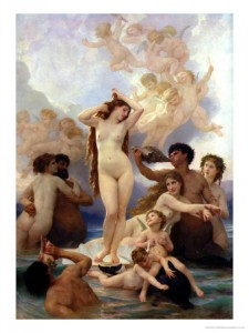 The Birth of Venus, 1879  William-Adolphe Bouguereau