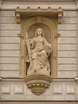 Justice-a good image for Saturn in Libra. (Source:Wikipedia)