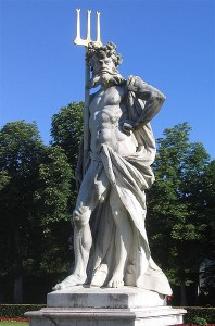 Statue of Pluto at Nymphenburg Palace. (Source:Wikipedia Commons)