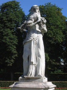 Statue of Saturn at Nymphenburg Palace (Source:Wikipedia Commons)