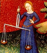 The scales of balance. (Source:Wikipedia)