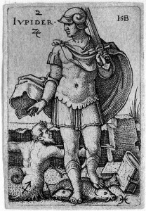 Beham, (Hans) Sebald (1500-1550): Jupiter, from The Seven Planets with the Signs of the Zodiac, 1539
