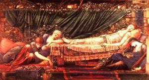 Sleeping Beauty, by Edward Burne-Jones.