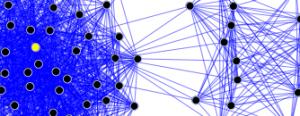 Segment of a social network
